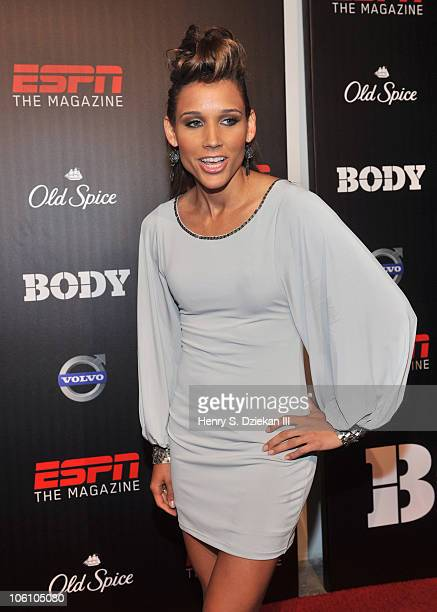 Lolo Jones attends ESPN The Magazine The Body Issue Party at Skylight SOHO on October 12 2010 in New York