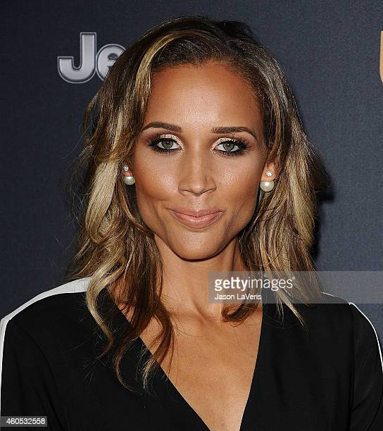 Lolo Jones attends the premiere of 'Unbroken' at TCL Chinese Theatre IMAX on December 15 2014 in Hollywood California