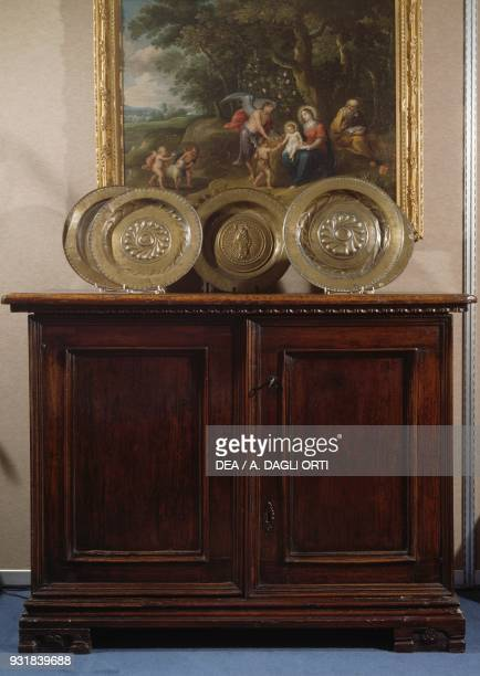 Lombard sideboard Renaissance style second half 1500 Italy 16th century