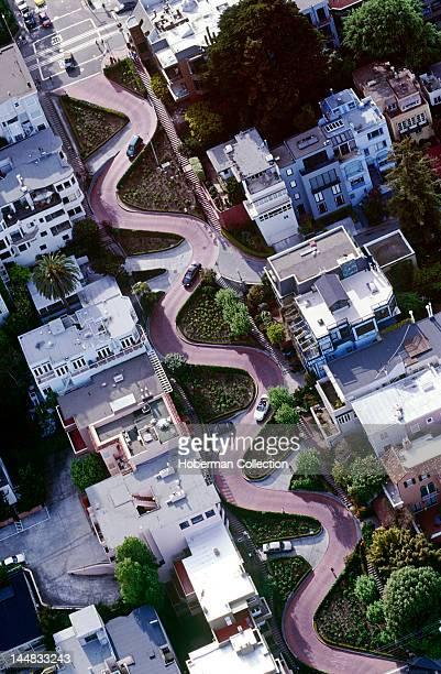 Lombard Street San Francisco California North America