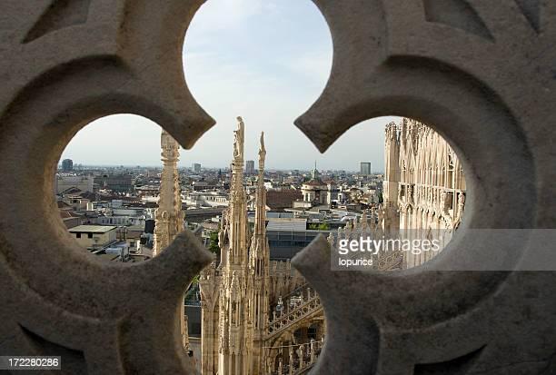 lombardia - cattedrale foto e immagini stock