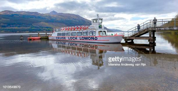 Lomond Queen sightseeing boat on Loch Lomond, Scotland, United Kingdom.