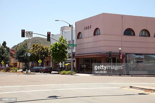lompoc, california main street - terryfic3d bildbanksfoton och bilder