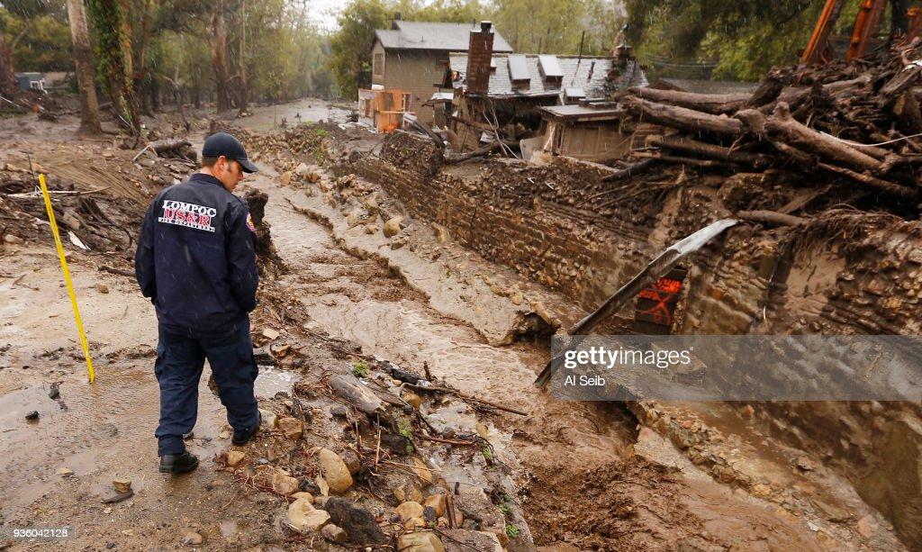 Heavy Rain In Montecito, California : News Photo