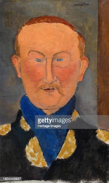 Léon Bakst, 1917. Artist Amadeo Modigliani.