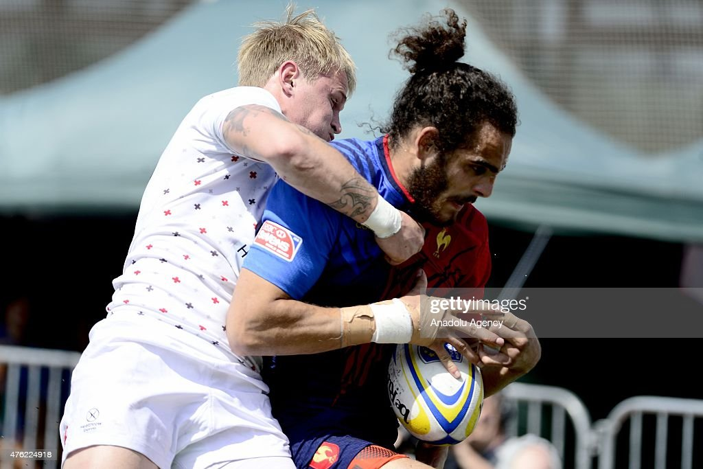 Rugby Europe Men's Sevens Grand Prix Series in Moscow - Day 2 : News Photo