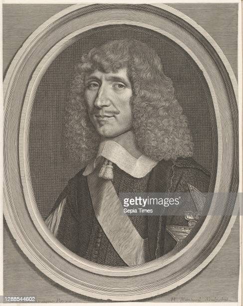 Léon-Bouthillier, comte de Chavigny Engraving; first state of two , sheet: 12 1/4 x 9 5/8 in. , Prints, Robert Nanteuil , After Philippe de...