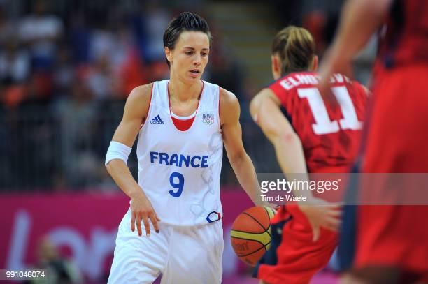 Fra Cze 1/4 Final Womenceline Dumerc / France Czech Republic / Women Femmes Vrouwen Quarterfinals Quarts De Finale Arena London Olympic Games Jeux...