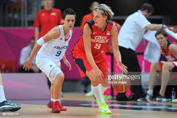 Fra Cze 1/4 Final Womenceline Dumerc / Hana Horakova / France Czech Republic / Women Femmes Vrouwen Quarterfinals Quarts De Finale Arena London...