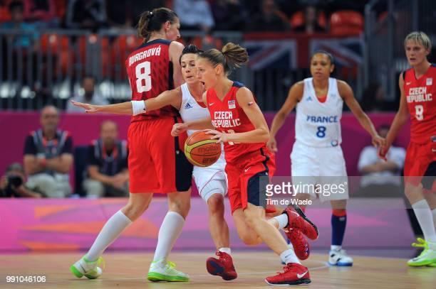 Fra Cze 1/4 Final Womenceline Dumerc / Lenka Bartakova / France Czech Republic / Women Femmes Vrouwen Quarterfinals Quarts De Finale Arena London...