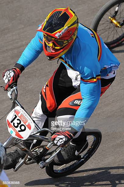 Londen Olympics / BMX Cycling : Men Arnaud DUBOIS / 1/4 Final / BMX Track Piste / Hommes Mannen / London Olympic Games Jeux Olympique Londres...