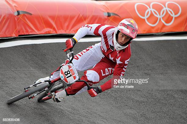 Londen Olympics / BMX Cycling : Men Maris STROMBERGS / Seeding Run BMX Track Piste / Hommes Mannen / London Olympic Games Jeux Olympique Londres...