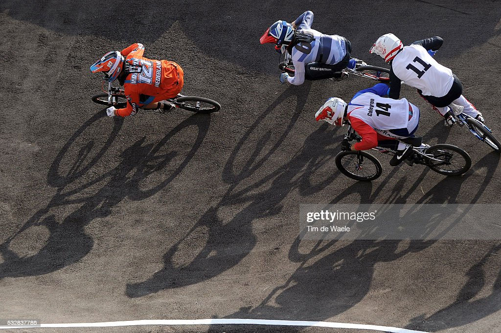 Londen Olympics / BMX Cycling : Mens Final : News Photo