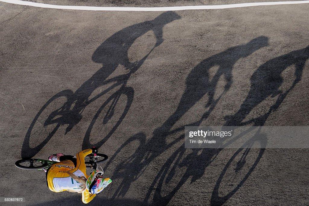 Londen Olympics / BMX Cycling : Womens Final : News Photo