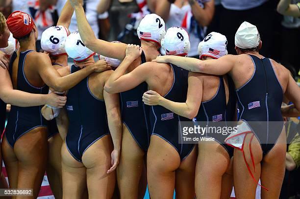 Final Women Team USA Illustration Illustratie Sexy Celebration Joie Vreugde / United States Spain / Finale Femmes Vrouwen / Arena / London Olympic...