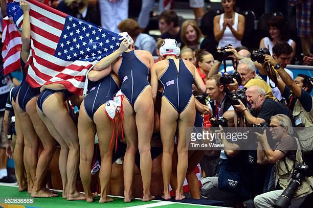 Final Women Team USA Illustration Illustratie Sexy Celebration Joie Vreugde Photographers Fotograaf / United States Spain / Finale Femmes Vrouwen /...