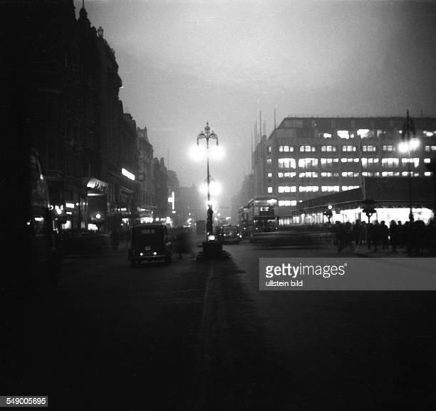 GBR London 19521001 Historische Stadtaufnahmen von London