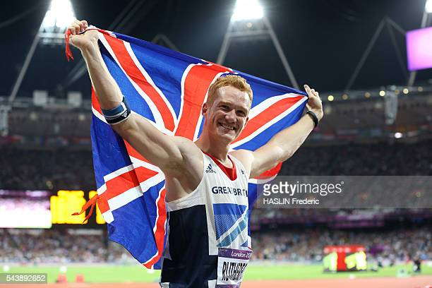 London 2012 - Athletics - Men's long jump final - Greg RUTHERFORD gold medalist