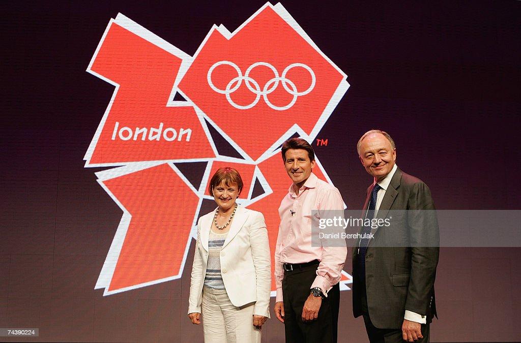 London 2012 Logo And Brand Identity - Press Launch : News Photo