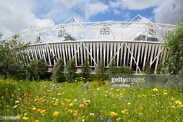 london 2012 olympic stadium - 2012 summer olympics london stock photos and pictures