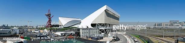 London 2012 Olympics Aquatic Centre panorama