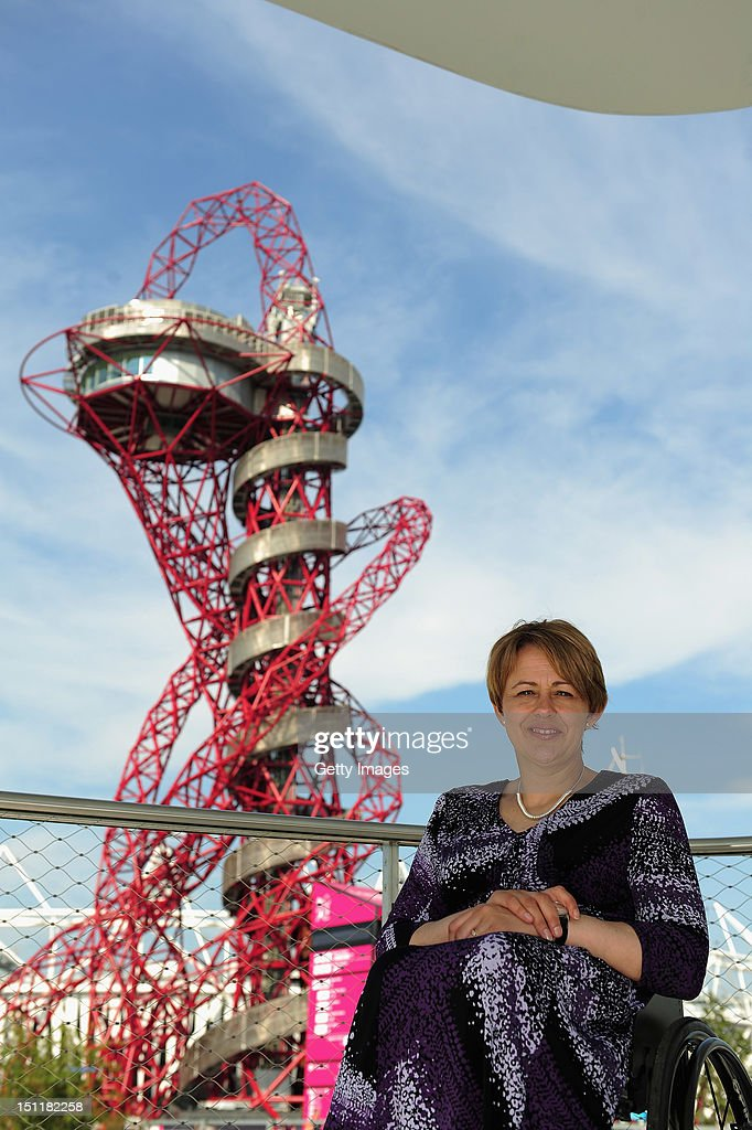 London 2012 Performance Team member Tanni Grey-Thompson appears at the BMW Group Pavilion at Olympic Park on September 3, 2012 in London, England.