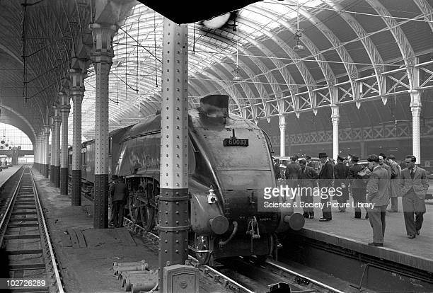 London and North Eastern Railway A4 Pacific no 60033 'Seagull'on th 830 Plymouth to Paddington train 5th May 1948 830 Plymouth Paddington train 5 may...