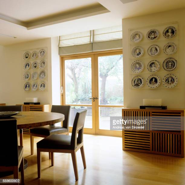 London apartment furnished with antiques