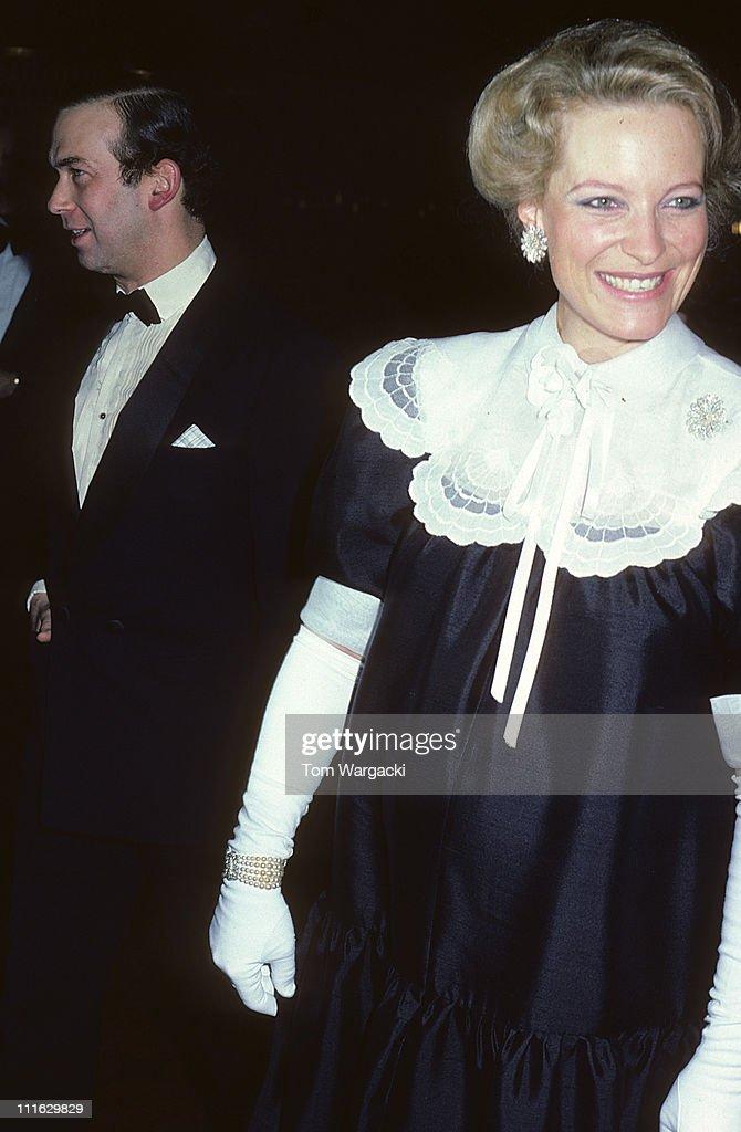 Prince and Princess Michael of Kent at Charity Dinner 1981 : News Photo