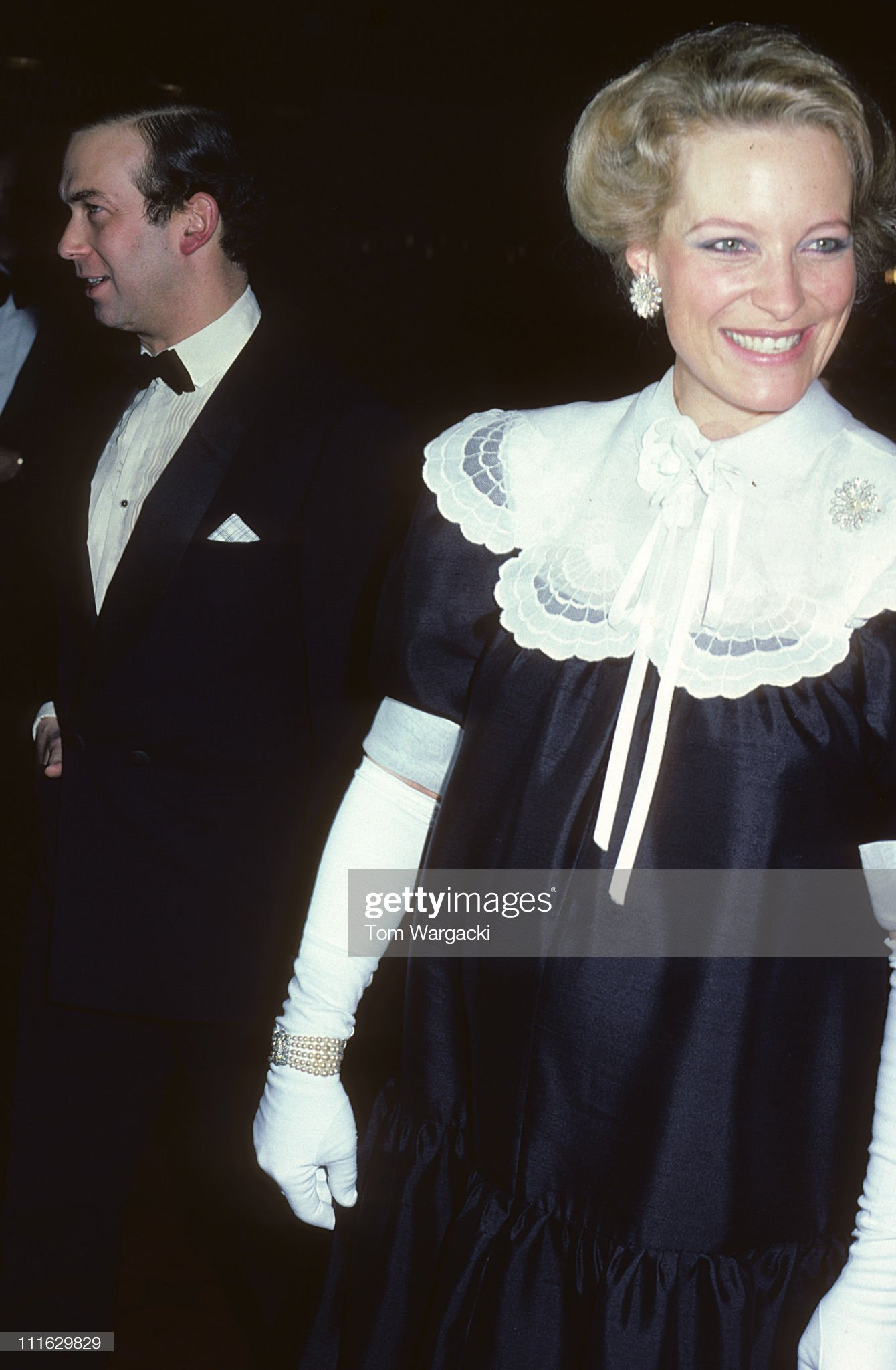 Prince and Princess Michael of Kent at Charity Dinner 1981 : News Photo