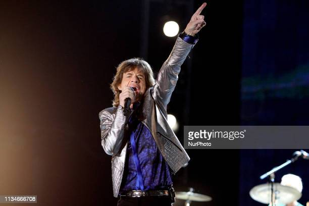 London April 3 2019 The Rolling Stones frontman Mick Jagger will undergo surgery this week in New York to replace a heart valve with the band...