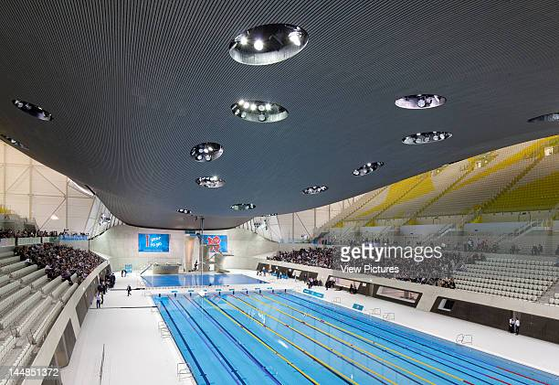 London Aquatic CentreLondon, E9, United Kingdom, Architect: Zaha Hadid Architects London Aquatic Centre, Zaha Hadid Architects, London, Uk View Of...
