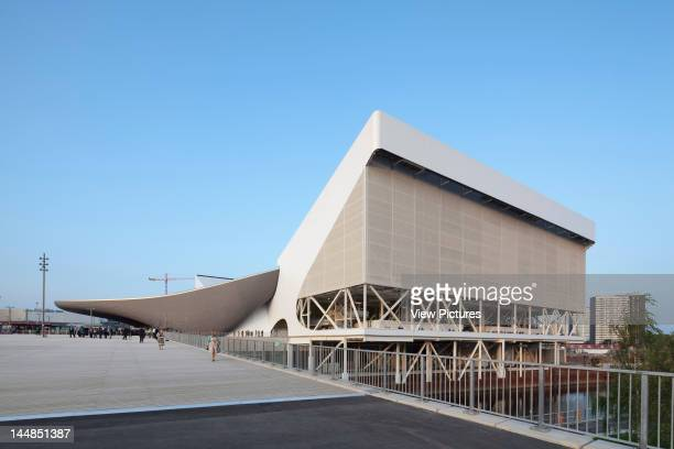 London Aquatic CentreLondon E9 United Kingdom Architect Zaha Hadid Architects London Aquatic Centre Zaha Hadid Architects London Uk Exterior