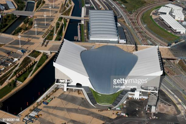 London Aquatics Centre and Water Polo Arena Queen Elizabeth Olympic Park London 2012