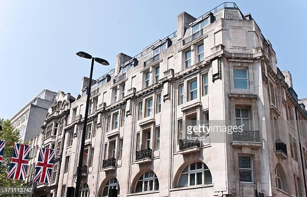 London Architecture Union Jack: Classique Fassade sous le soleil de l'après-midi