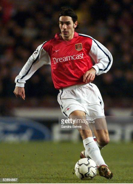LEAGUE 01/02 London ARSENAL LONDON BAYER 04 LEVERKUSEN 41 Robert PIRES/ARSENAL