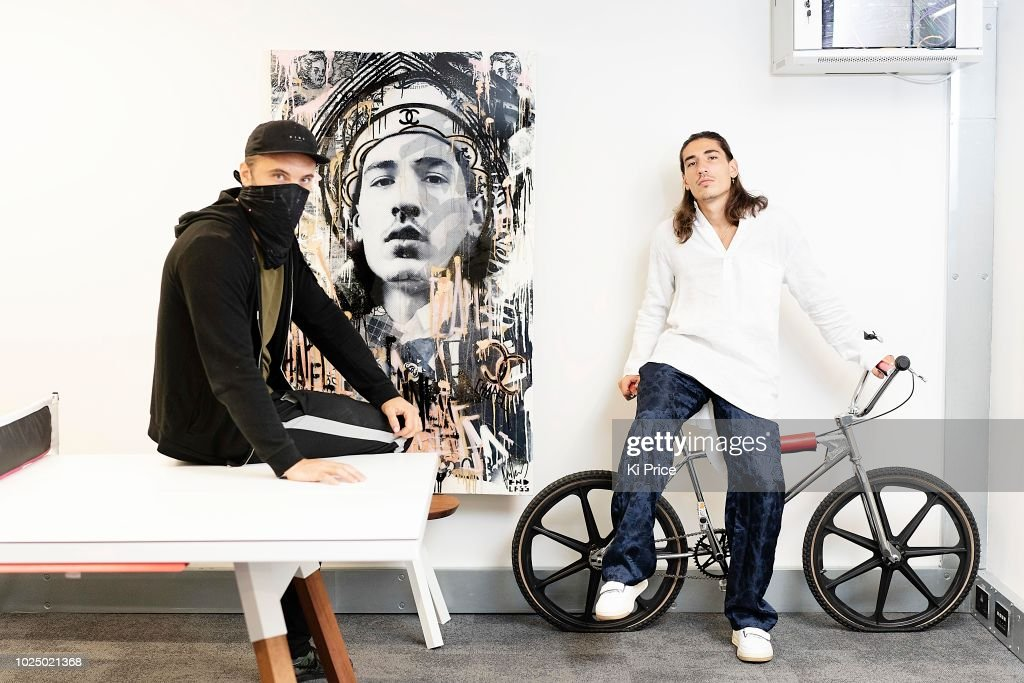 Endless Artist And Arsenals Hector Bellerin Photocall