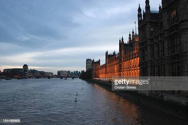 london at night - bortes - fotografias e filmes do acervo