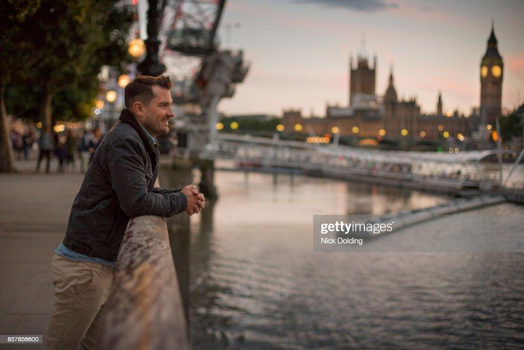 London at night : Stock Photo