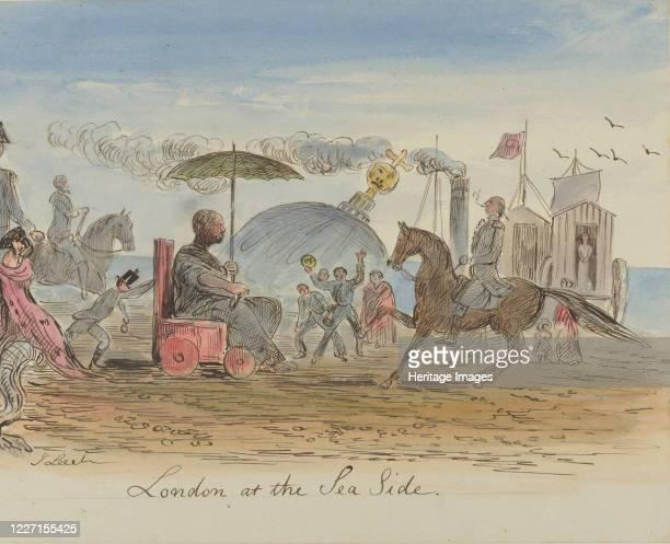 London at the Sea Side 183064 Artist John Leech