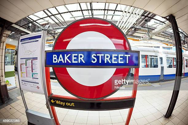 London Baker Street Tube Station