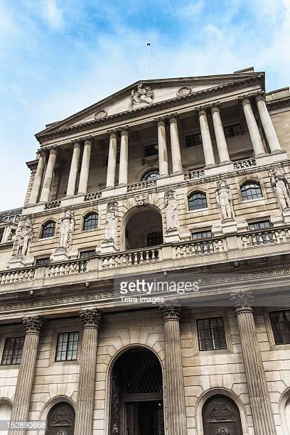 UK, London, Bank of England and Royal Exchange