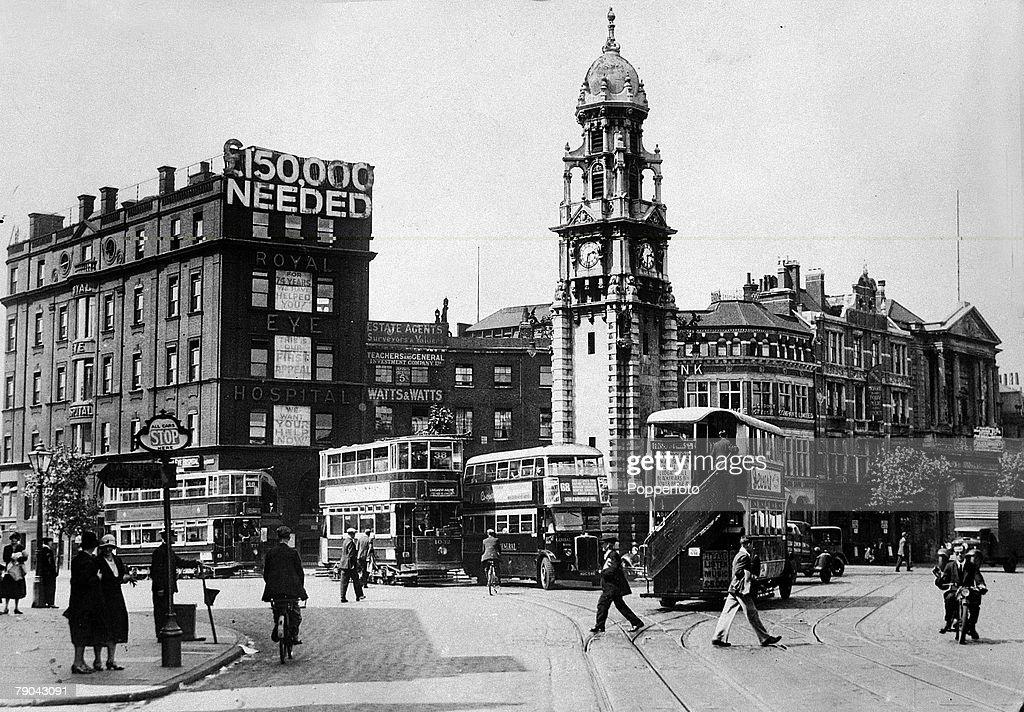 London Before The Blitz England Pic Circa 1930s Royal