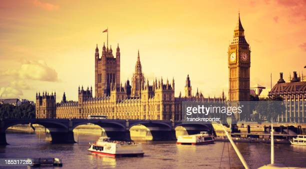 Londres Big Ben e Casas do Parlamento