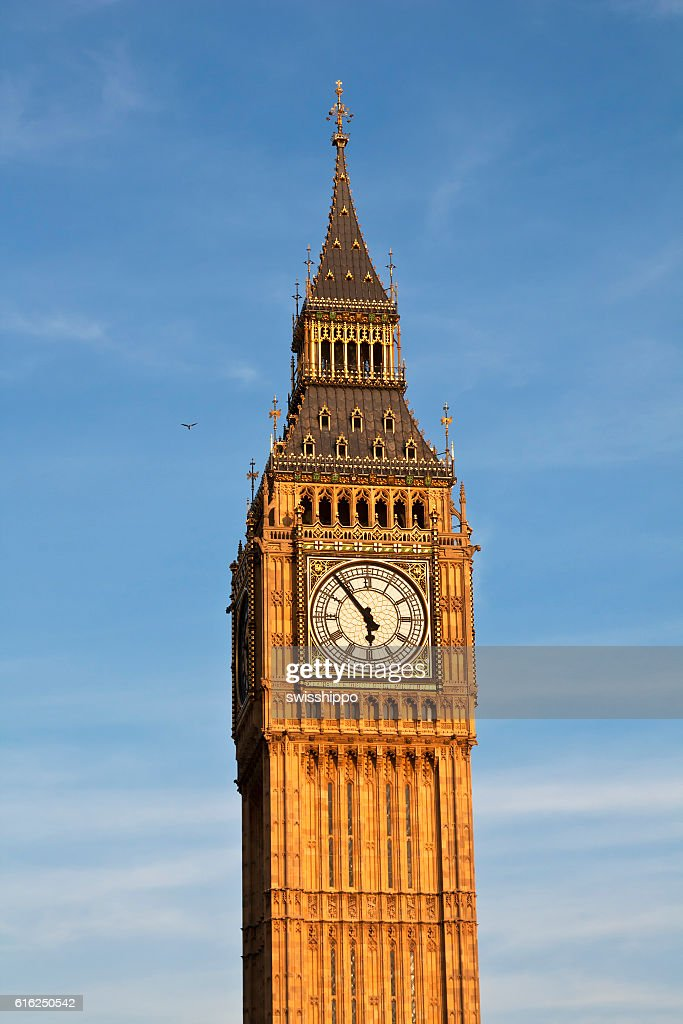 Londres. Torre do relógio Big Ben. : Foto de stock
