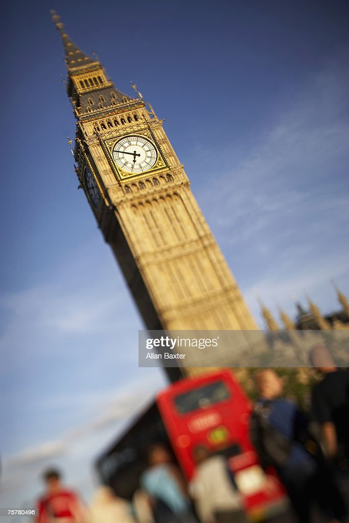 UK, London, Big ben : Stock Photo