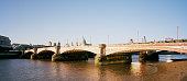 London Blackfriars Bridge at sunset
