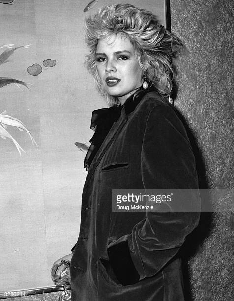 London born pop singer Kim Wilde daughter of 1950's pop idol Marty Wilde and Vernons Girls' vocalist Joyce Smith Signed to Mickie Most's Rak Record...