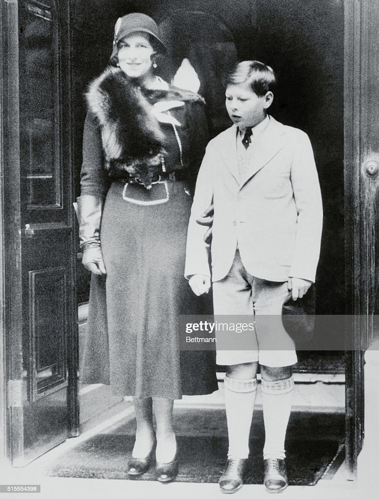 Royal Mother and Son of Rumania : News Photo