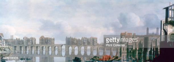 'London Bridge' 1630